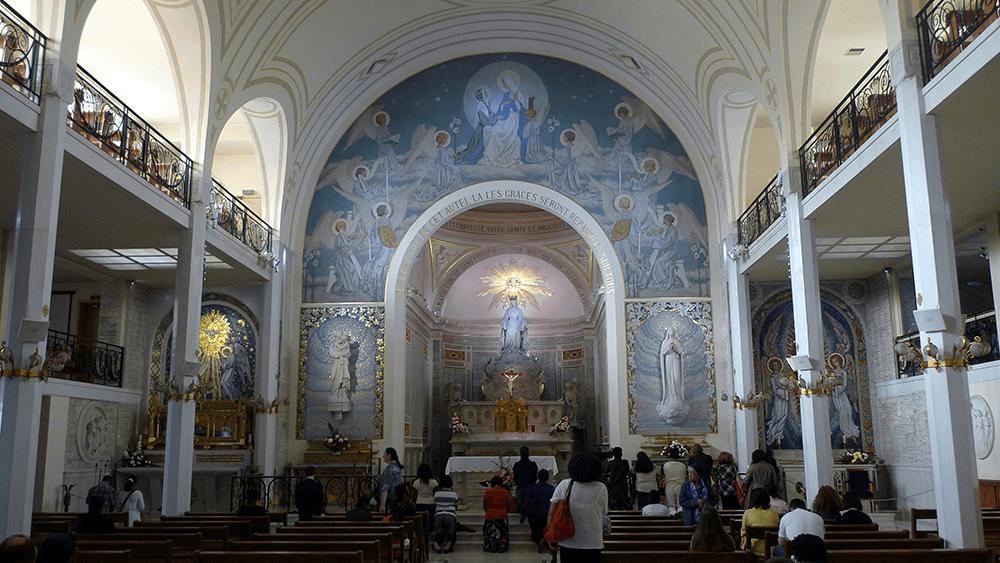 capilla de la medalla milagrosa