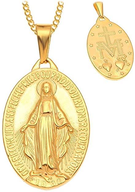 medalla milagrosa oro