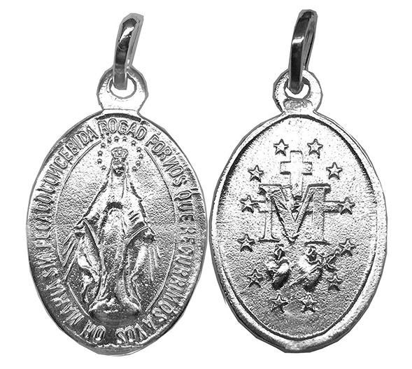 comprar medalla milagrosa plata