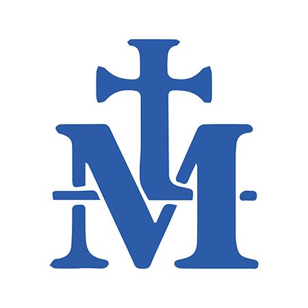 símbolo de la Virgen María M y Cruz medalla milagrosa